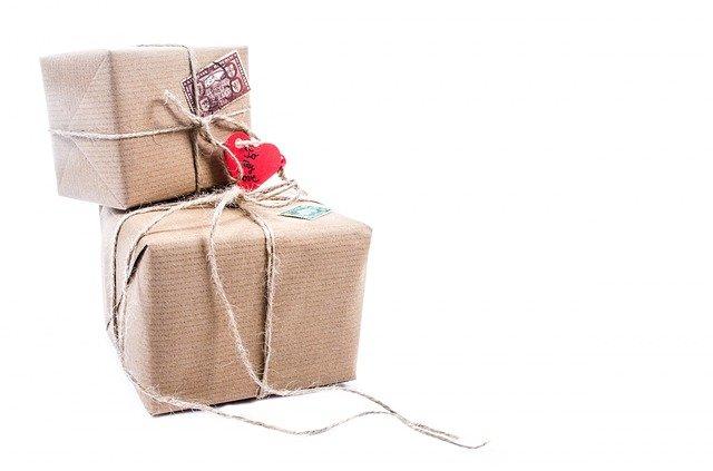 Eleganckie pakowanie towaru