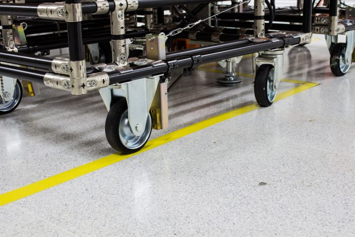 Zastosowanie wózków technologicznych